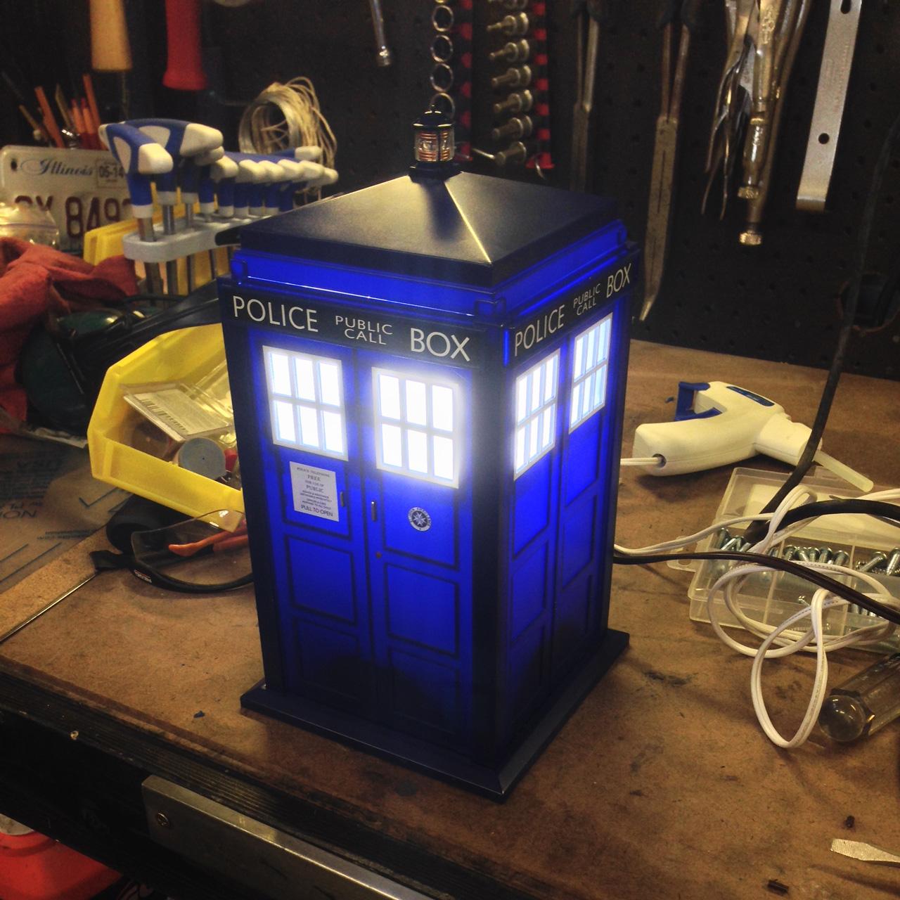 TARDIS Lamp | Salzmoto, Inc.